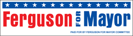 "9 1/4"" x 2 1/2"" Vinyl Bumper Sticker"